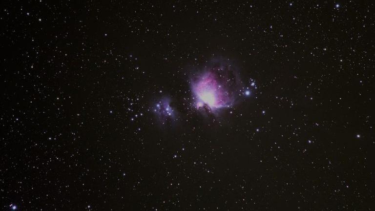 Photographie de la Nébuleuse d'Orion