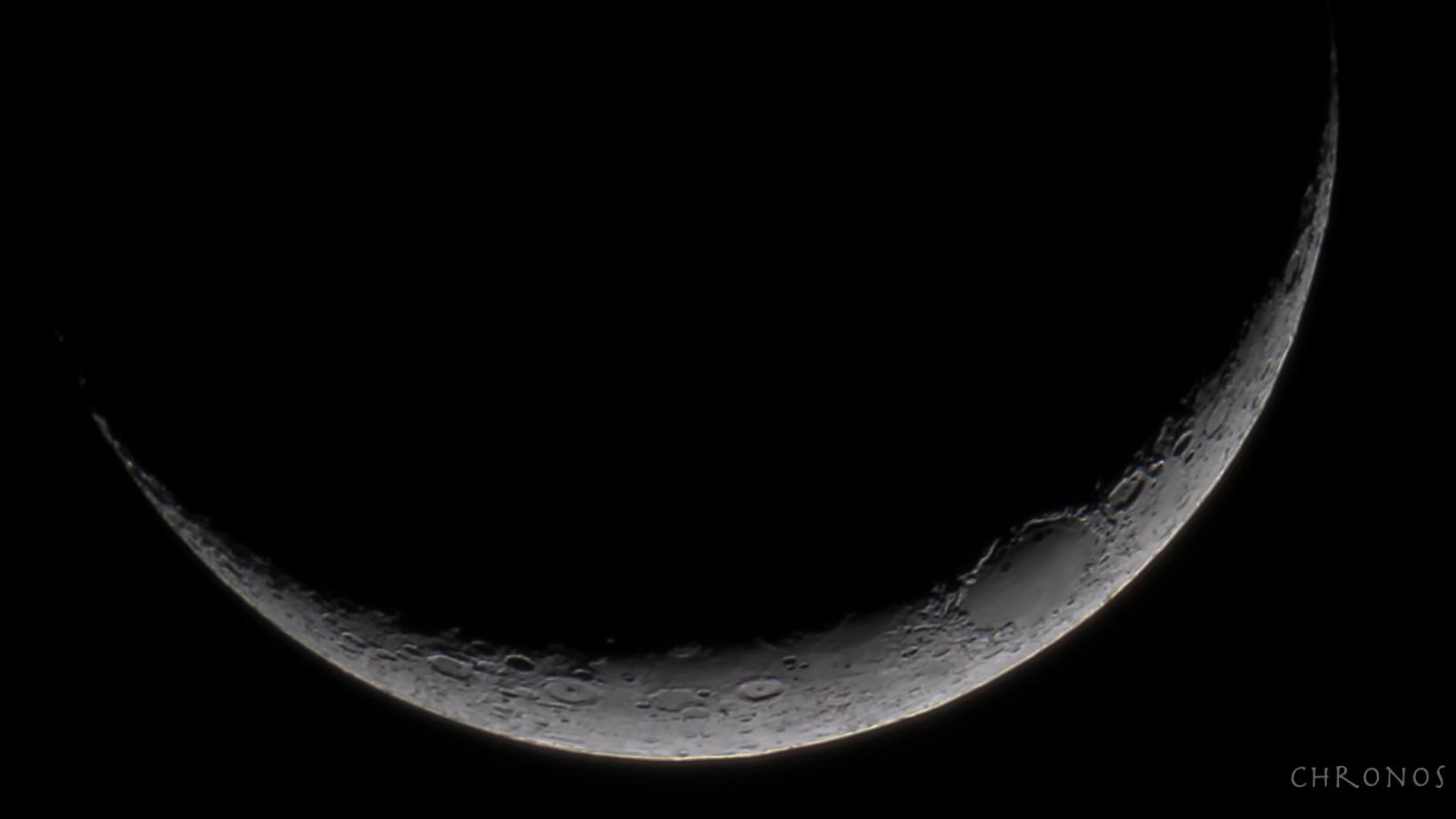 Fin croissant de Lune