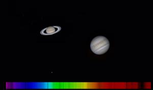 Photo de Jupiter et Saturne - 20200805