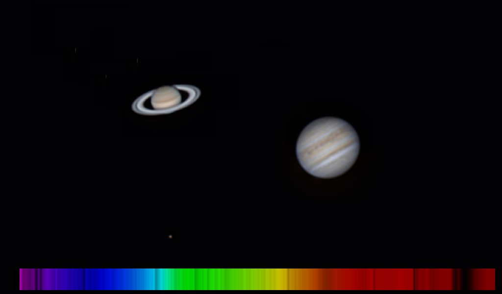 Photo de Jupiter et Saturne - 20200805